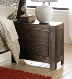 Homelegance Ferrin Dark Rustic Pine Night Stand Available Online in Dallas Fort Worth Texas