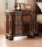 Homelegance Chaumont Burnished Brown Cherry Night Stand Available Online in Dallas Fort Worth Texas