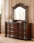 Homelegance Chaumont Burnished Brown Cherry Mirror Available Online in Dallas Fort Worth Texas