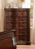 Homelegance Chaumont Burnished Brown Cherry Chest Available Online in Dallas Fort Worth Texas