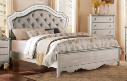 Homelegance Toulouse Champagne Queen Upholstered Bed Available Online in Dallas Fort Worth Texas