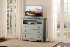 Homelegance Toulouse Champagne Media Chest Available Online in Dallas Fort Worth Texas