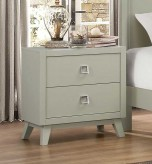 Homelegance Valpico Cool Grey/Olive Night Stand Available Online in Dallas Fort Worth Texas