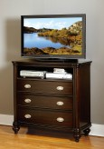 Homelegance Marston Dark Cherry Media Chest Available Online in Dallas Fort Worth Texas
