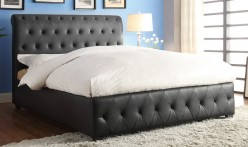 Homelegance Baldwyn Black Queen Sleigh Bed Available Online in Dallas Fort Worth Texas