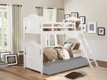 Homelegance Clementine White Twin/Twin Bunk Bed Available Online in Dallas Fort Worth Texas