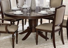 Homelegance Marston Dark Cherry Oval Dining Table Available Online in Dallas Fort Worth Texas
