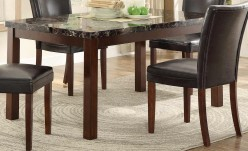 Homelegance Belvedere II Espresso Dining Table Available Online in Dallas Fort Worth Texas