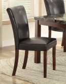 Homelegance Belvedere II Espresso Side Chair Available Online in Dallas Fort Worth Texas