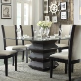 Homelegance Havre Rich Dark Espresso Dining Table Available Online in Dallas Fort Worth Texas