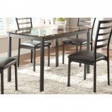 Homelegance Flannery Black Dining Table Available Online in Dallas Fort Worth Texas