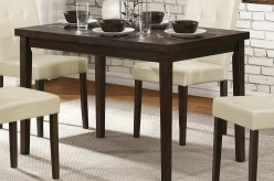 Homelegance Ahmet Espresso Dining Table Available Online in Dallas Fort Worth Texas