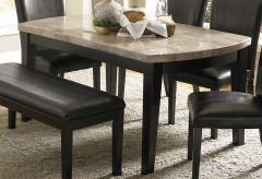 Homelegance Cristo Black Dining Table Available Online in Dallas Fort Worth Texas