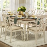 Homelegance Azalea Antique White Dining Table Available Online in Dallas Fort Worth Texas