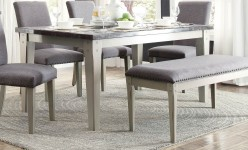 Homelegance Mendel Grey Dining Table Available Online in Dallas Fort Worth Texas