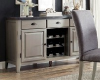 Homelegance Mendel Grey Server Available Online in Dallas Fort Worth Texas