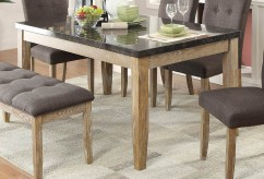 Homelegance Huron Natural Dining Table Available Online in Dallas Fort Worth Texas