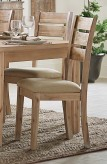 Homelegance Colmar Light Burnished Oak Side Chair Available Online in Dallas Fort Worth Texas