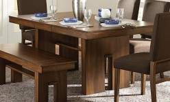 Homelegance Sedley Walnut Dining Table Available Online in Dallas Fort Worth Texas