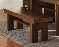 Homelegance Sedley Walnut Bench Available Online in Dallas Fort Worth Texas