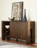 Homelegance Sedley Walnut Server Available Online in Dallas Fort Worth Texas