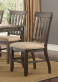 Homelegance Nantes Dark Brown Side Chair Available Online in Dallas Fort Worth Texas
