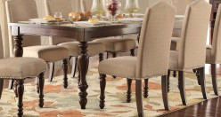 Homelegance Benwick Dark Cherry Dining Table Available Online in Dallas Fort Worth Texas