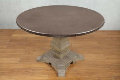 Homelegance Anna Claire Oak Round Dining Table Available Online in Dallas Fort Worth Texas