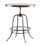 Homelegance Angstrom Black/Brown Round Counter Height Table Available Online in Dallas Fort Worth Texas