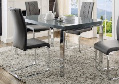 Homelegance Miami Dark Grey Dining Table Available Online in Dallas Fort Worth Texas