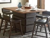 Homelegance Rochelle Dark Brown Counter Height Dining Table Available Online in Dallas Fort Worth Texas