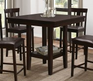 Homelegance Diego Espresso Counter Height Table Available Online in Dallas Fort Worth Texas