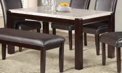 Homelegance Festus Dark Cherry Dining Table Available Online in Dallas Fort Worth Texas