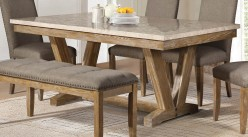 Homelegance Jemez Oak Dining Table Available Online in Dallas Fort Worth Texas