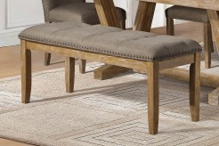 Homelegance Jemez Oak Bench Available Online in Dallas Fort Worth Texas