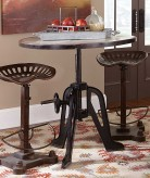 Homelegance Amara Brown Dining Iron Lift Table Available Online in Dallas Fort Worth Texas