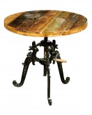 Homelegance Amara Dining Iron Lift Table with Solid Wood Top Available Online in Dallas Fort Worth Texas