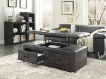 Homelegance Baine Black Coffee Table Available Online in Dallas Fort Worth Texas