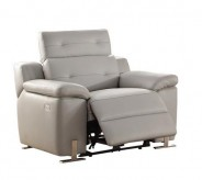 Homelegance Vortex Light Grey Power Recliner Chair Available Online in Dallas Fort Worth Texas