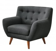 Homelegance Anke Dark Grey Chair Available Online in Dallas Fort Worth Texas