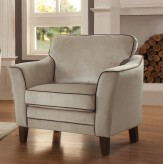 Homelegance Ouray Pebble Textured Velvet Chair Available Online in Dallas Fort Worth Texas