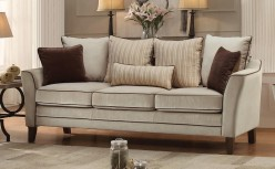 Homelegance Ouray Pebble Textured Velvet Sofa Available Online in Dallas Fort Worth Texas