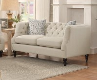 Homelegance Radley Beige Loveseat Available Online in Dallas Fort Worth Texas