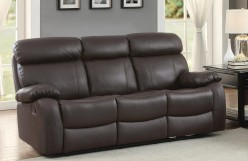 Homelegance Pendu Brown Double Reclining Sofa Available Online in Dallas Fort Worth Texas