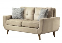 Homelegance Deryn Beige Loveseat Available Online in Dallas Fort Worth Texas