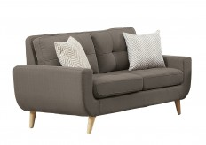 Homelegance Deryn Grey Loveseat Available Online in Dallas Fort Worth Texas