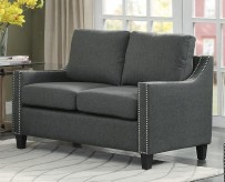 Homelegance Pagosa Dark Grey Loveseat Available Online in Dallas Fort Worth Texas