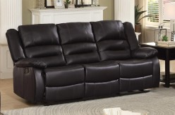 Homelegance Jarita Brown Double Reclining Sofa Available Online in Dallas Fort Worth Texas