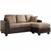 Homelegance Slater Reversible Sofa Chaise Available Online in Dallas Fort Worth Texas