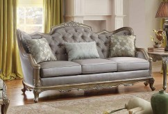 Homelegance Fiorella Dusky Taupe Sofa Available Online in Dallas Fort Worth Texas